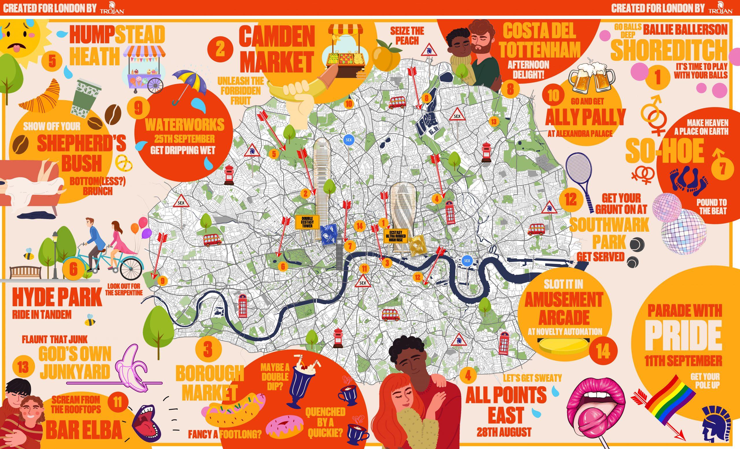Trojan Map of London